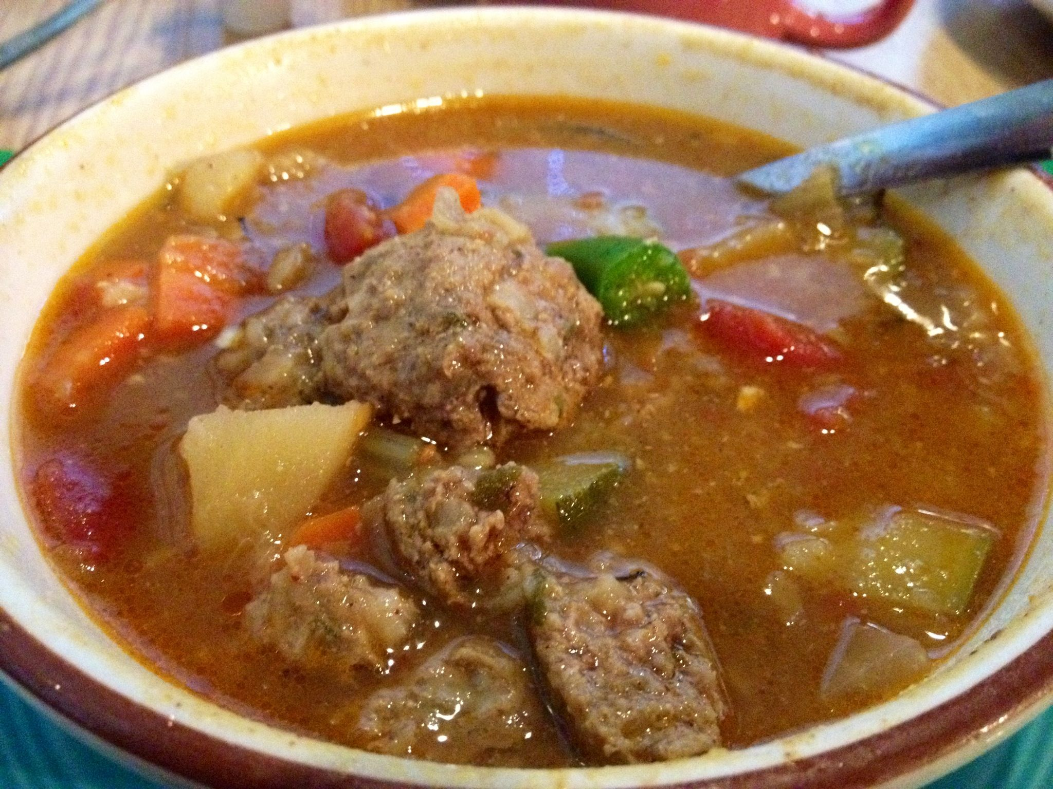 Albondigas Soup... Delicious! | Good Eats | Pinterest
