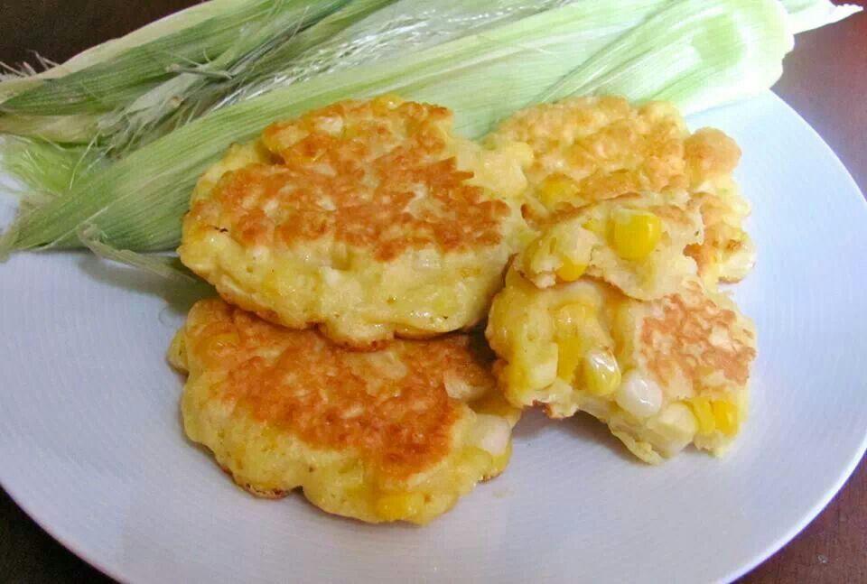 Sweet corn fritters | CPCO (Carrots, Peas, Corn & Onions) | Pinterest