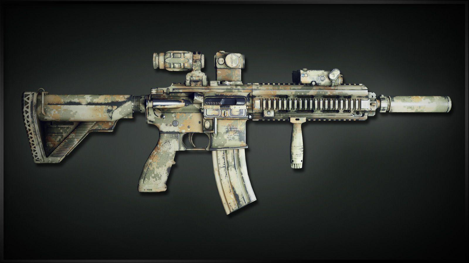 HK416 from MoH: Warfighter | Second Amendment Accessories | Pinterest