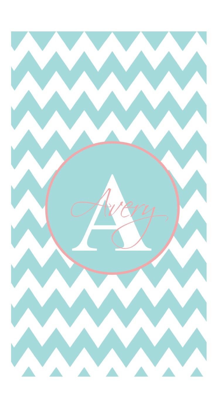 chevron monogram iphone 5 wallpaper - photo #12