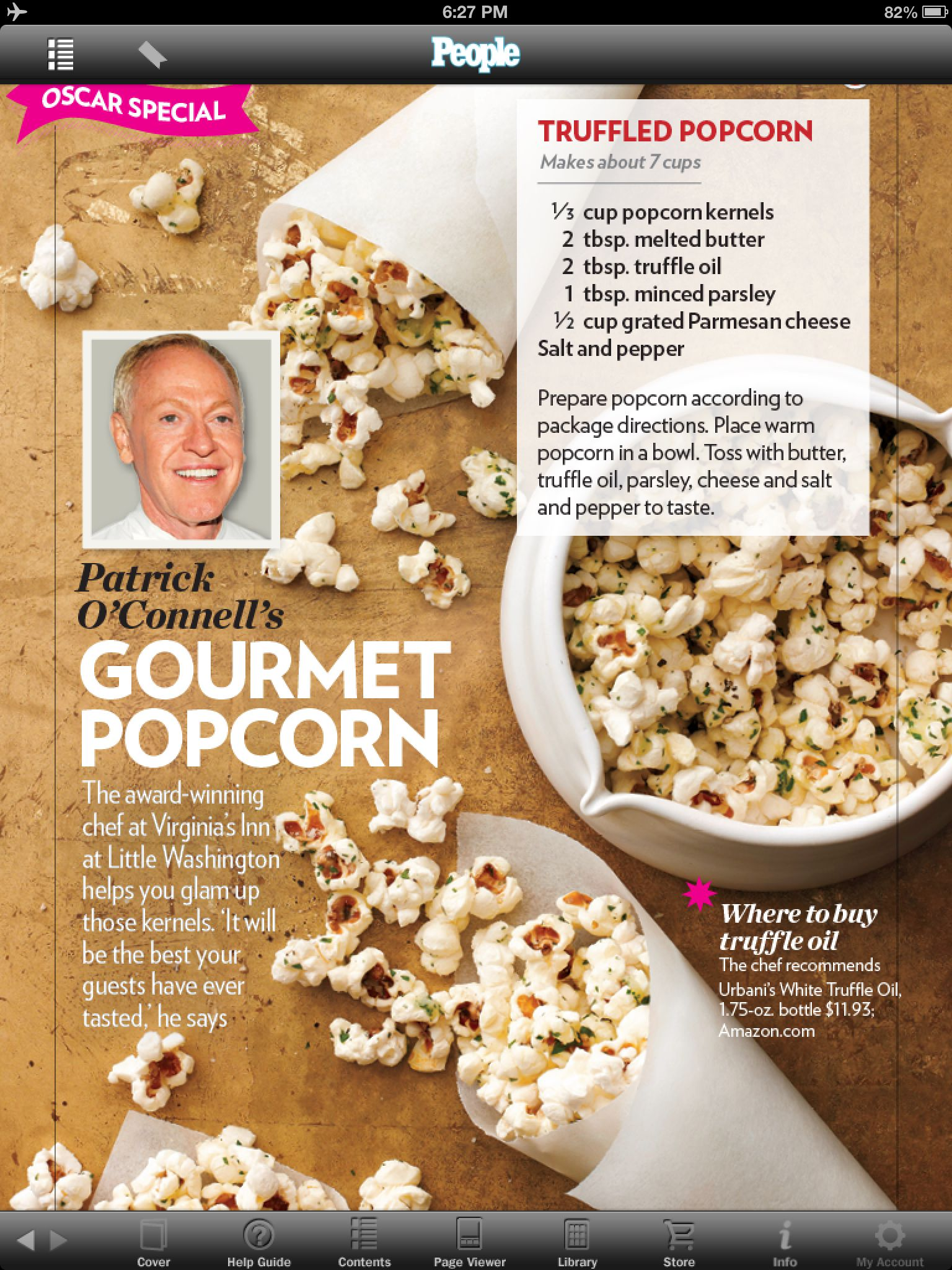 Truffled Popcorn | Gotta try these! (Recipes) | Pinterest