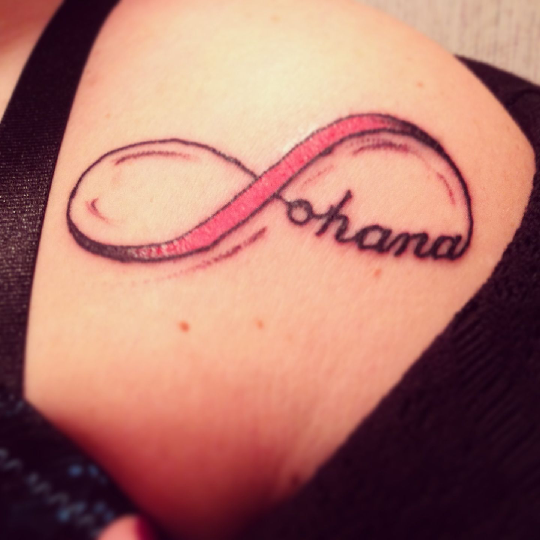 Ohana tattoo designs the image kid has it for Ohana infinity tattoo