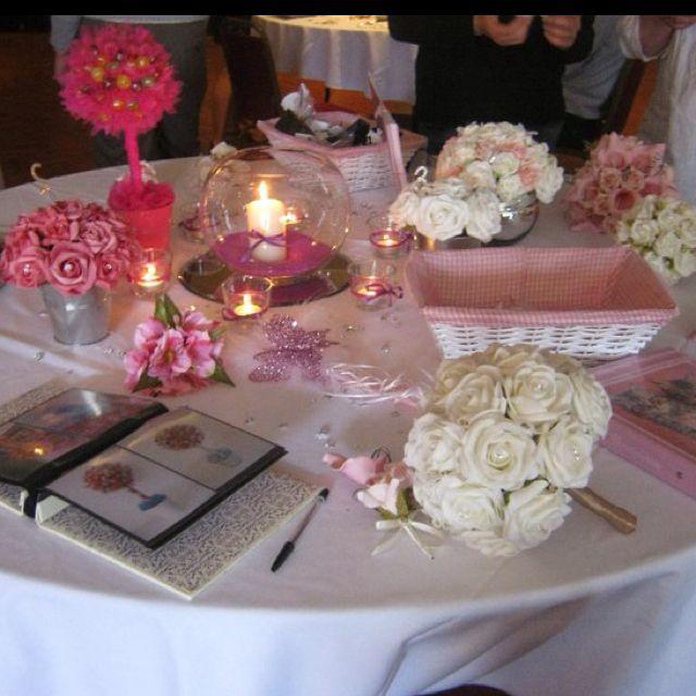 Wedding Table Ideas Wedding Shower Pinterest