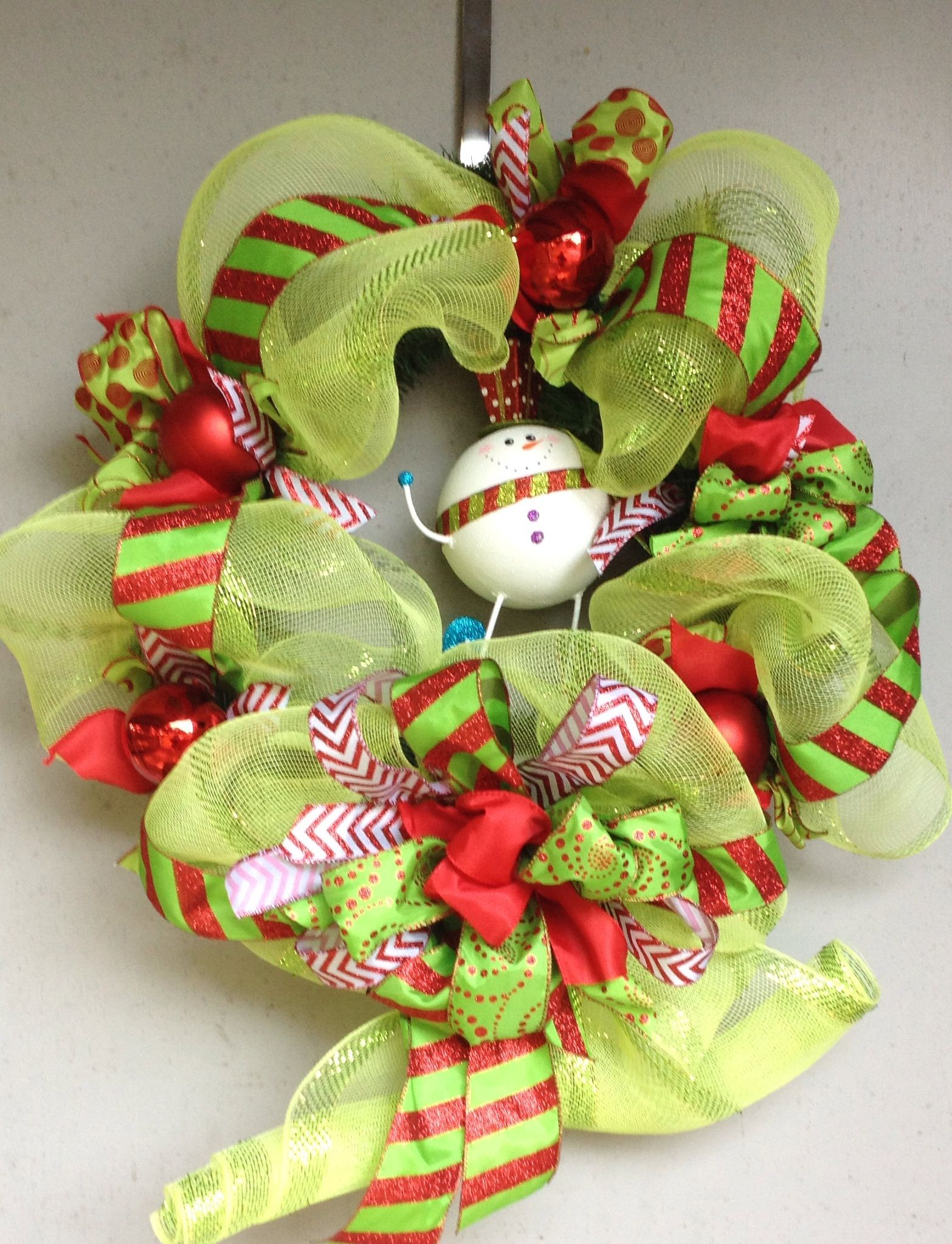 Whimsical christmas wreath christmas decorations for Whimsical decor