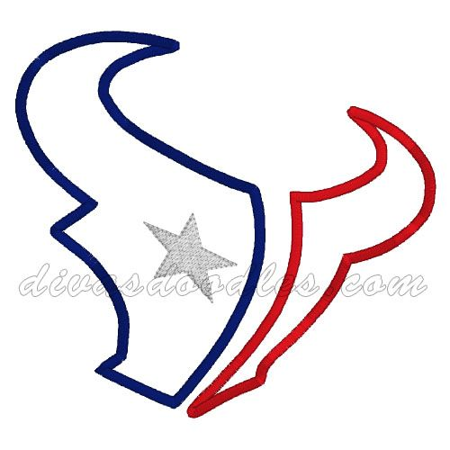 Texans Logo Outline   www.imgkid.com - The Image Kid Has It!