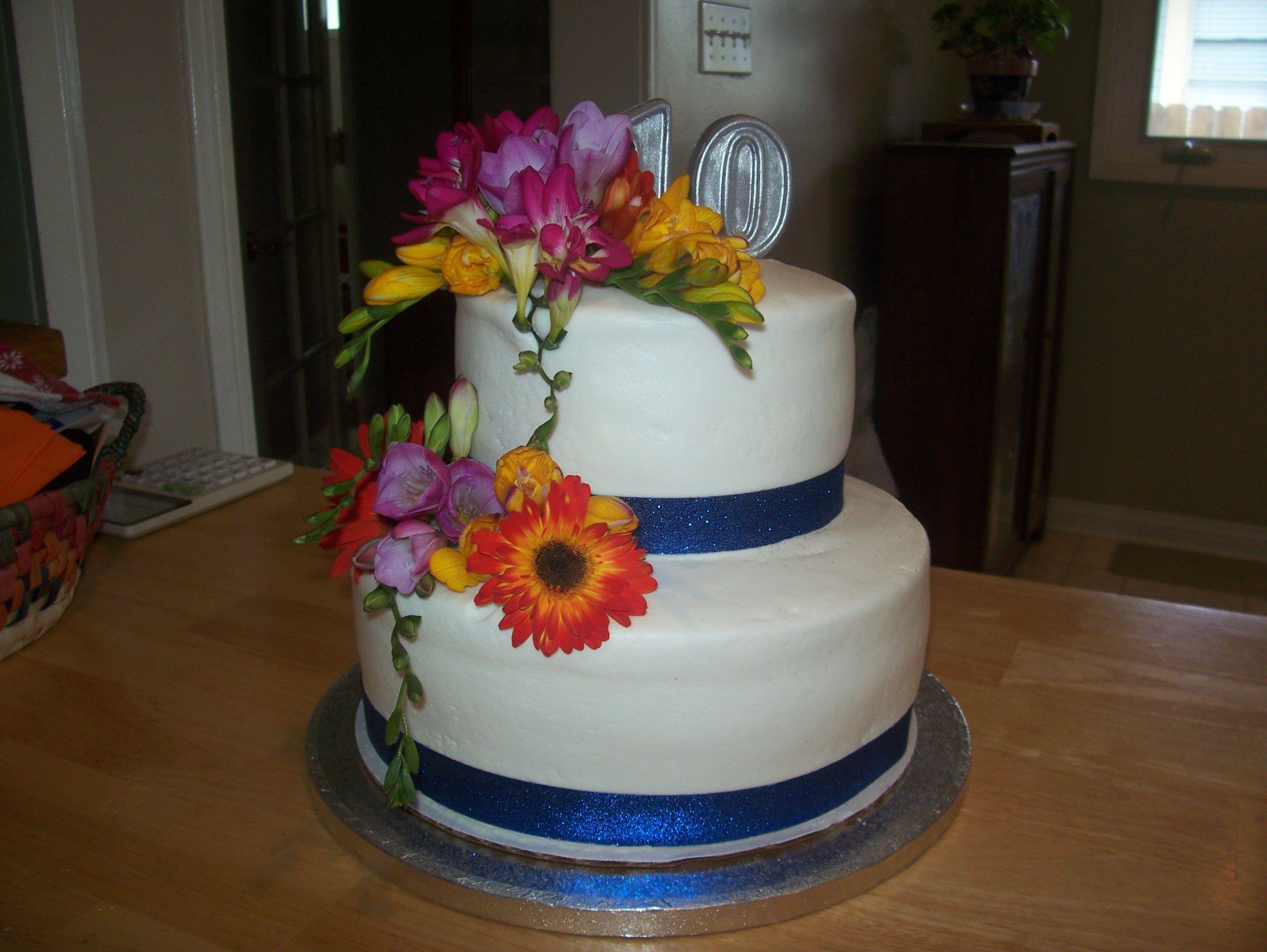 10th Wedding Anniversary Cake Anniversary ideas