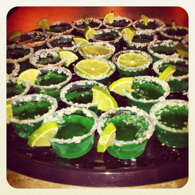 Margarita jello shots!! | Drinks | Pinterest