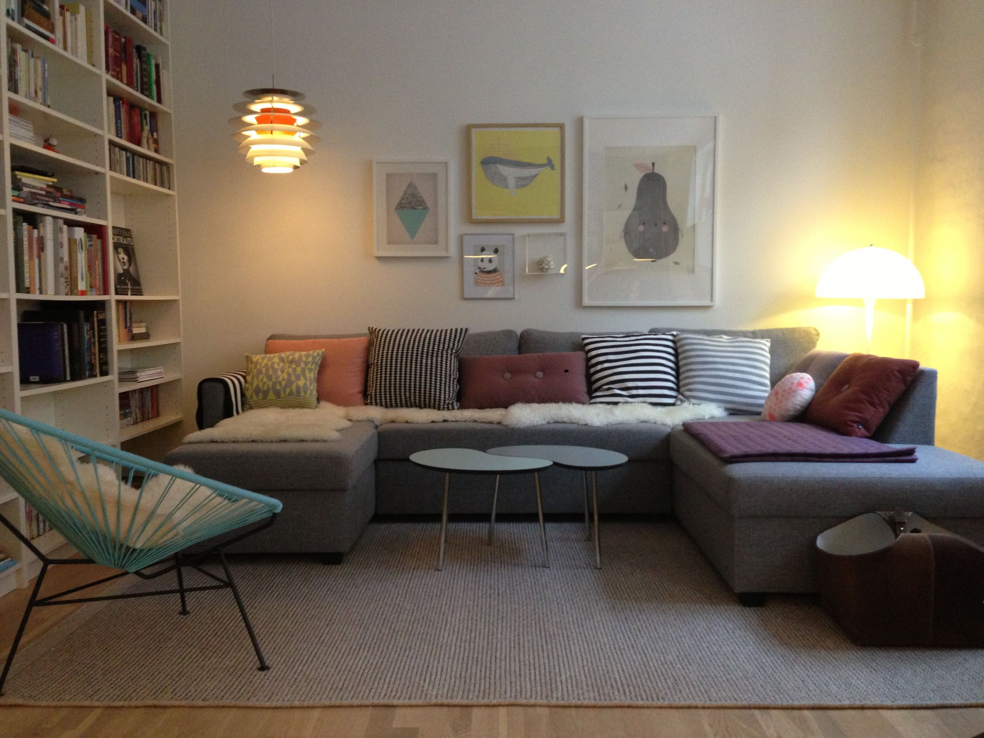 Scandinavian living room  Interior & Decor  Pinterest