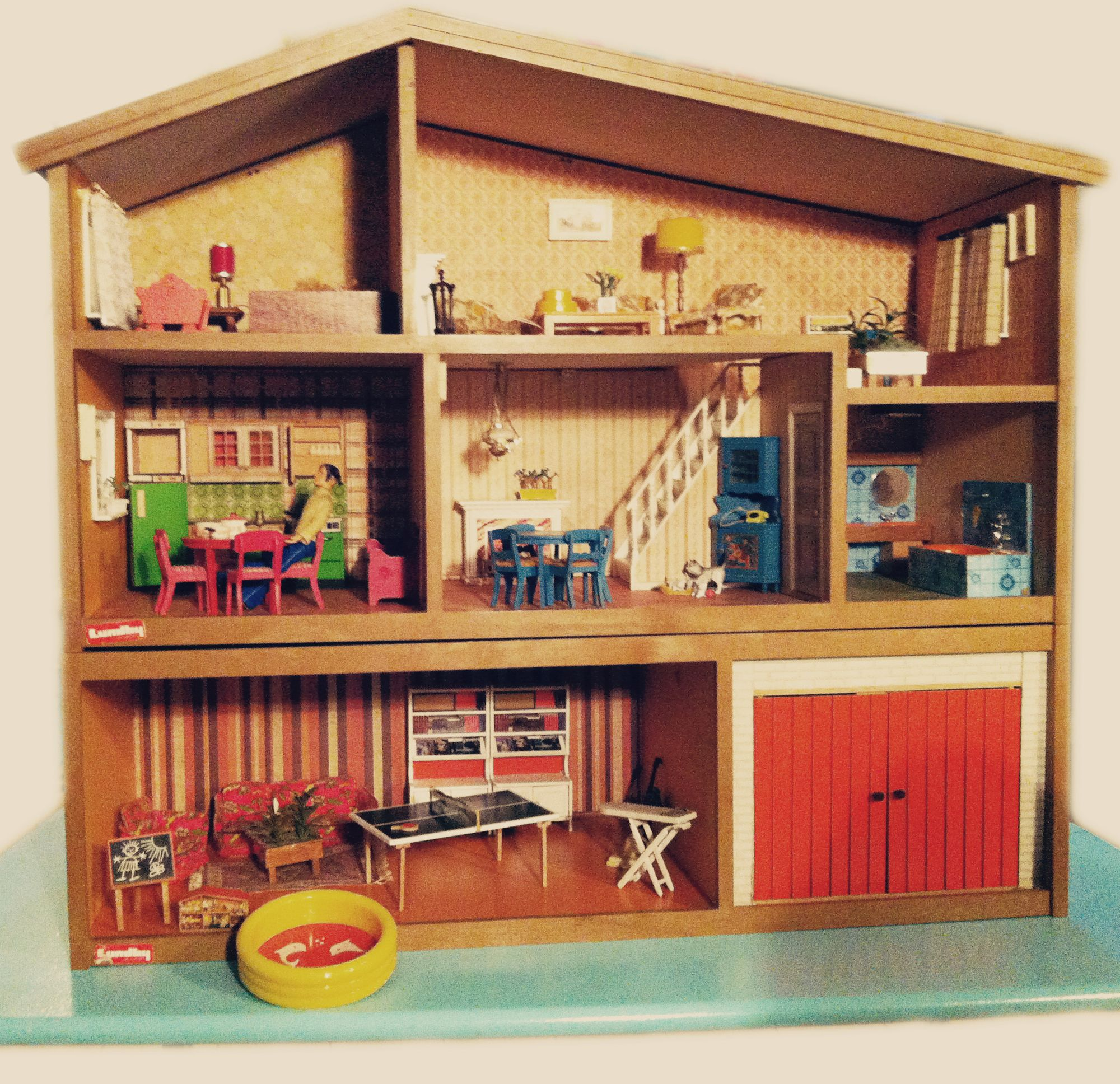Cute Retro Lundby Dollhouse Miniature Vintage Toys And Such Pin