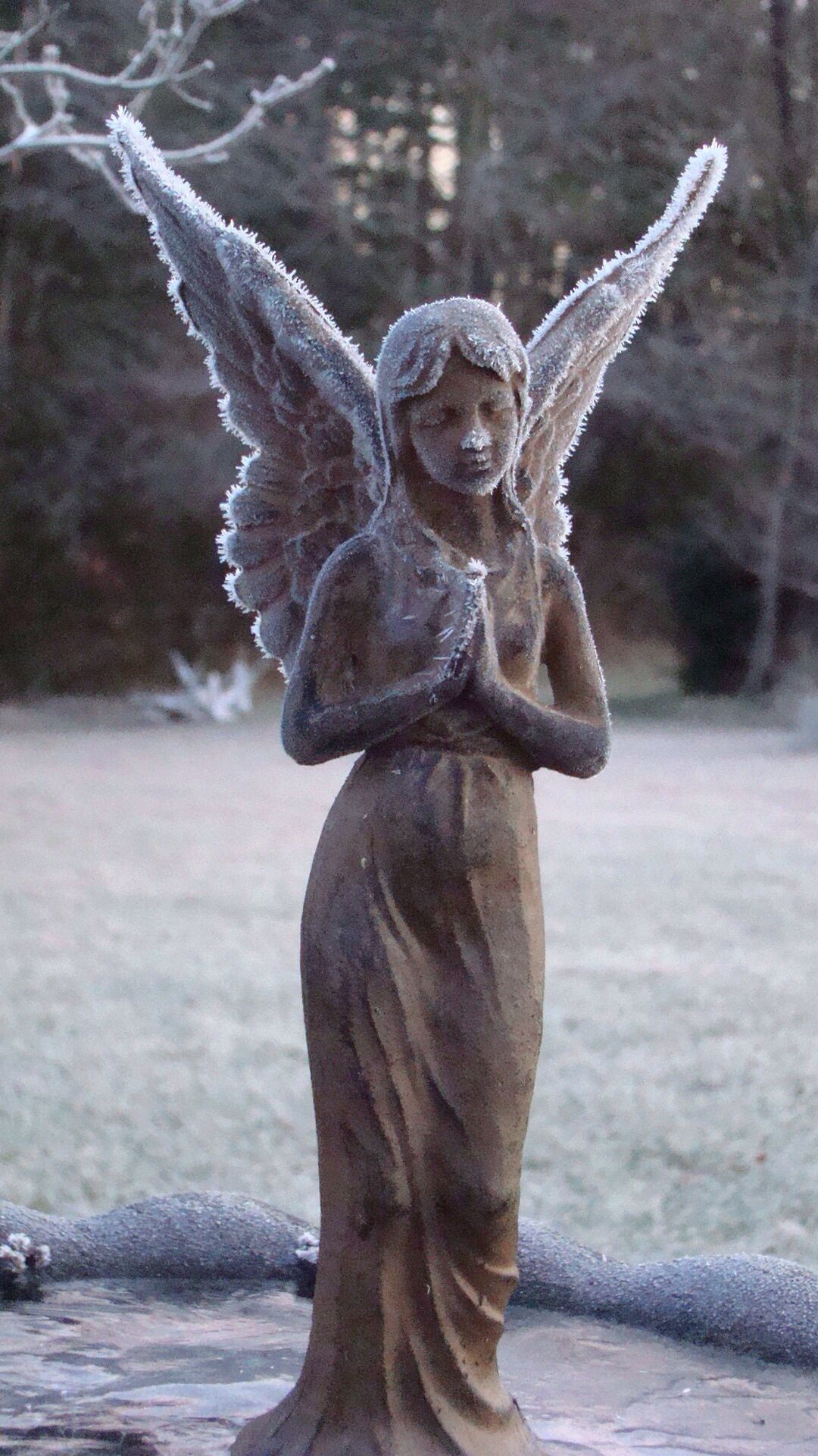 Pretty angel statue angels pinterest - Angel statue for garden ...