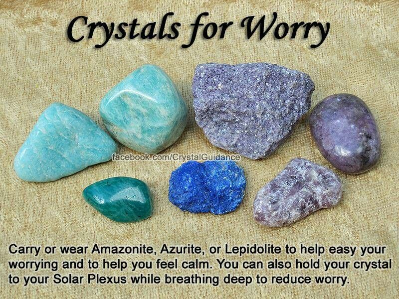 ptsd anxiety etc crystals gemstones