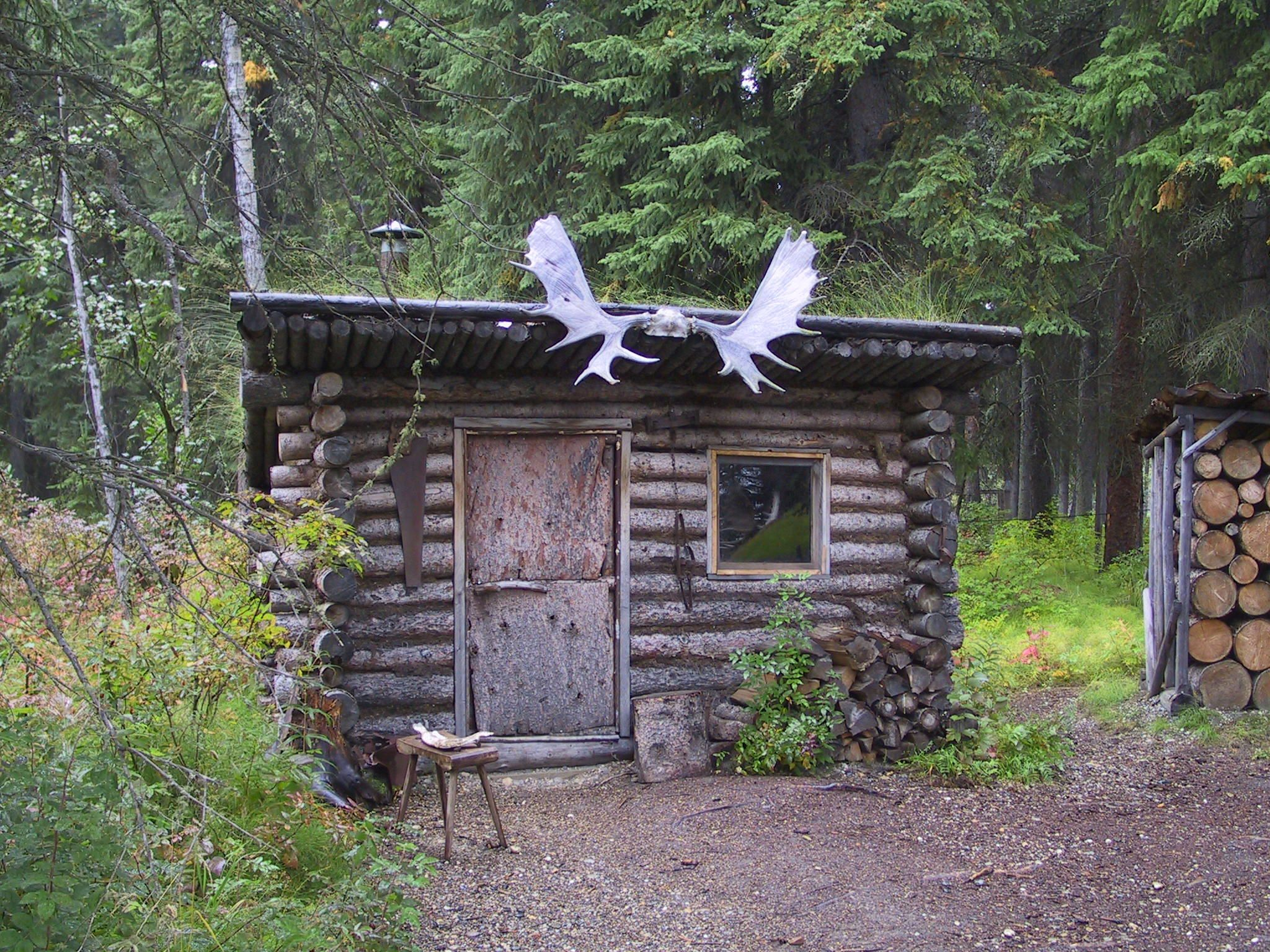 Trappers line cabin near fairbanks 1 travel by rv for Cabins near hunter mountain
