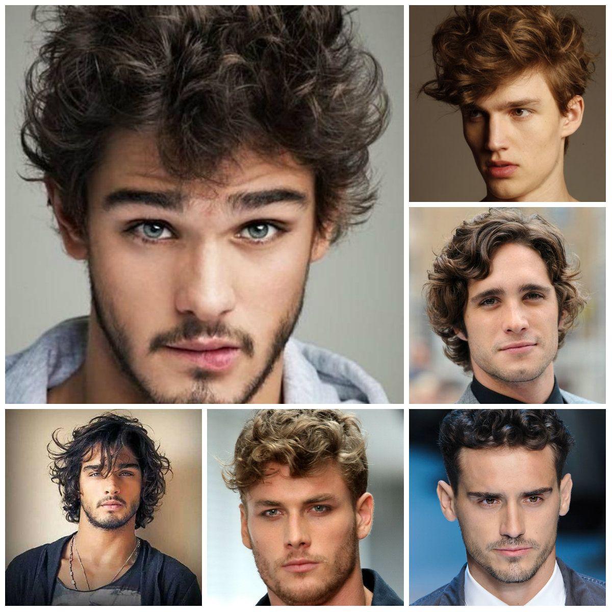 Как завить волосы мужчине - wikiHow 31