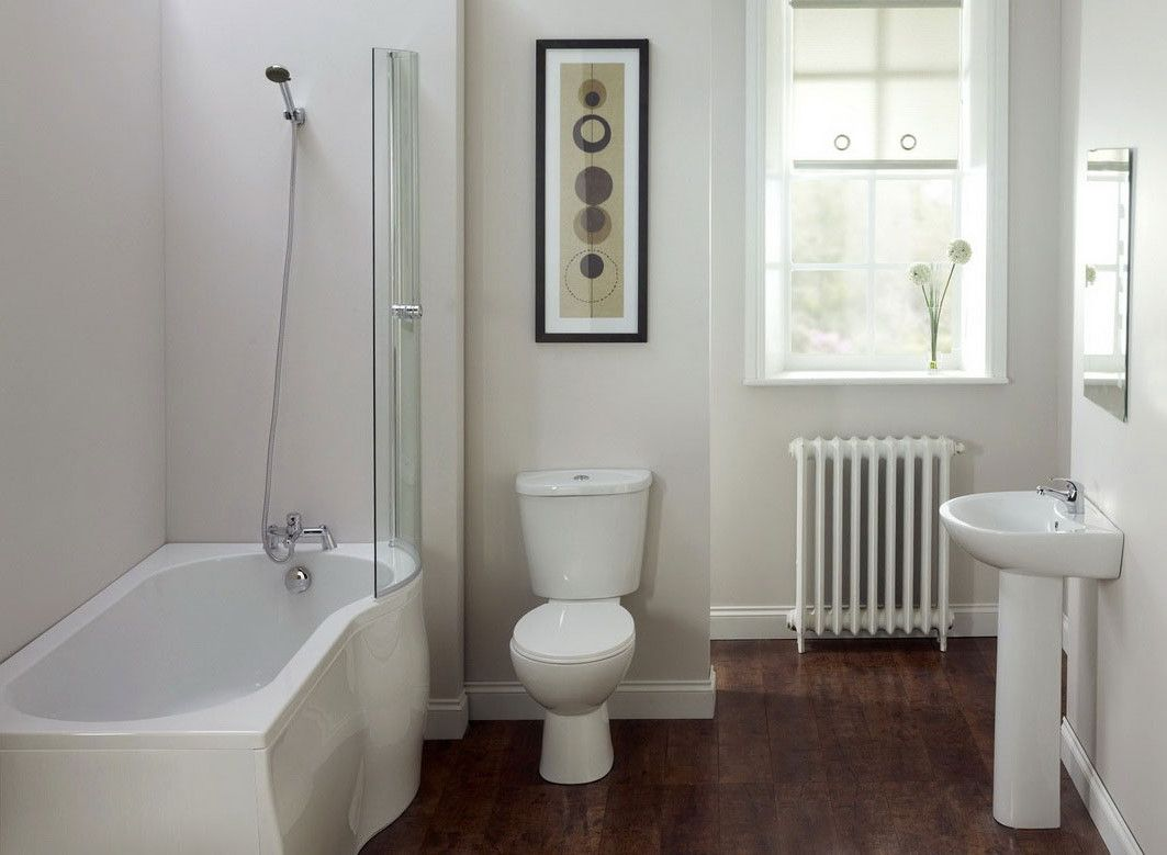 Decoracion Baño Sencillo:Small Bathroom with Shower Ideas