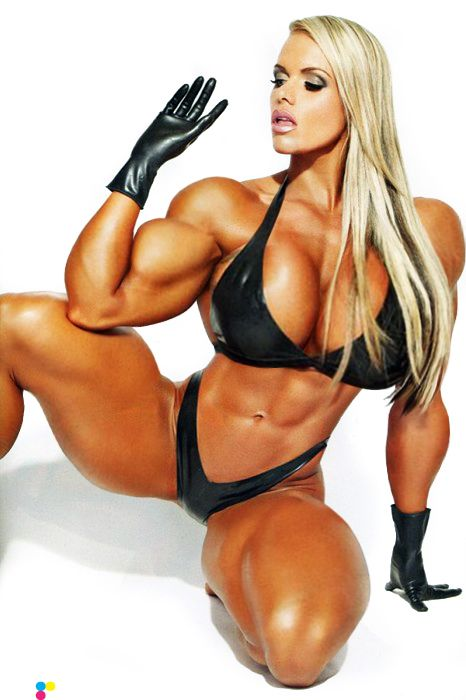 Larissa Reis!!! Wow I wouldn't want to mess with her ...