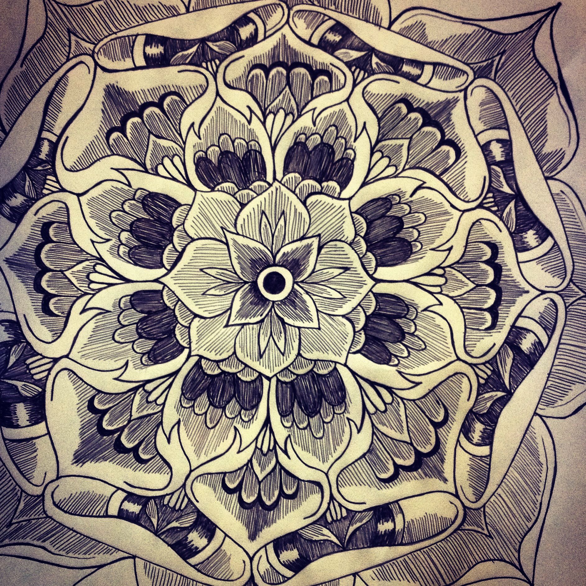 Mandala Tattoo Design On Pinterest: Mandala Tattoo Design Flower