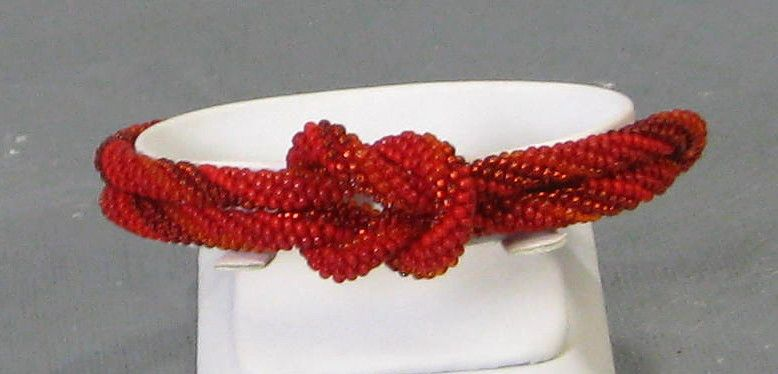 Seed Bead Bangle Bracelet uniquely different Available at VP's Jewelry