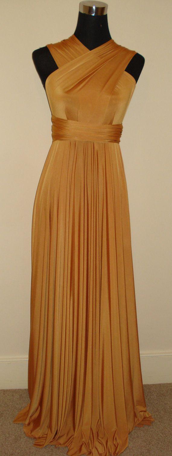 Mustard yellow bridesmaid dress  Etsy