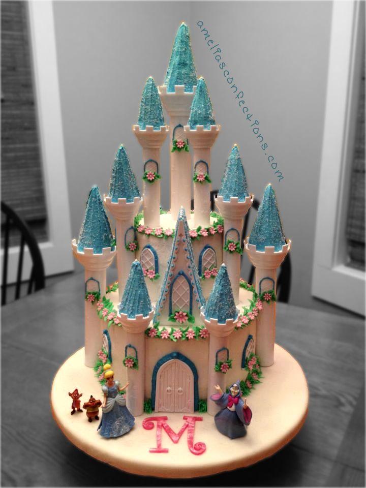 Cinderella Castle Cake Cakes & Cupcakes Pinterest