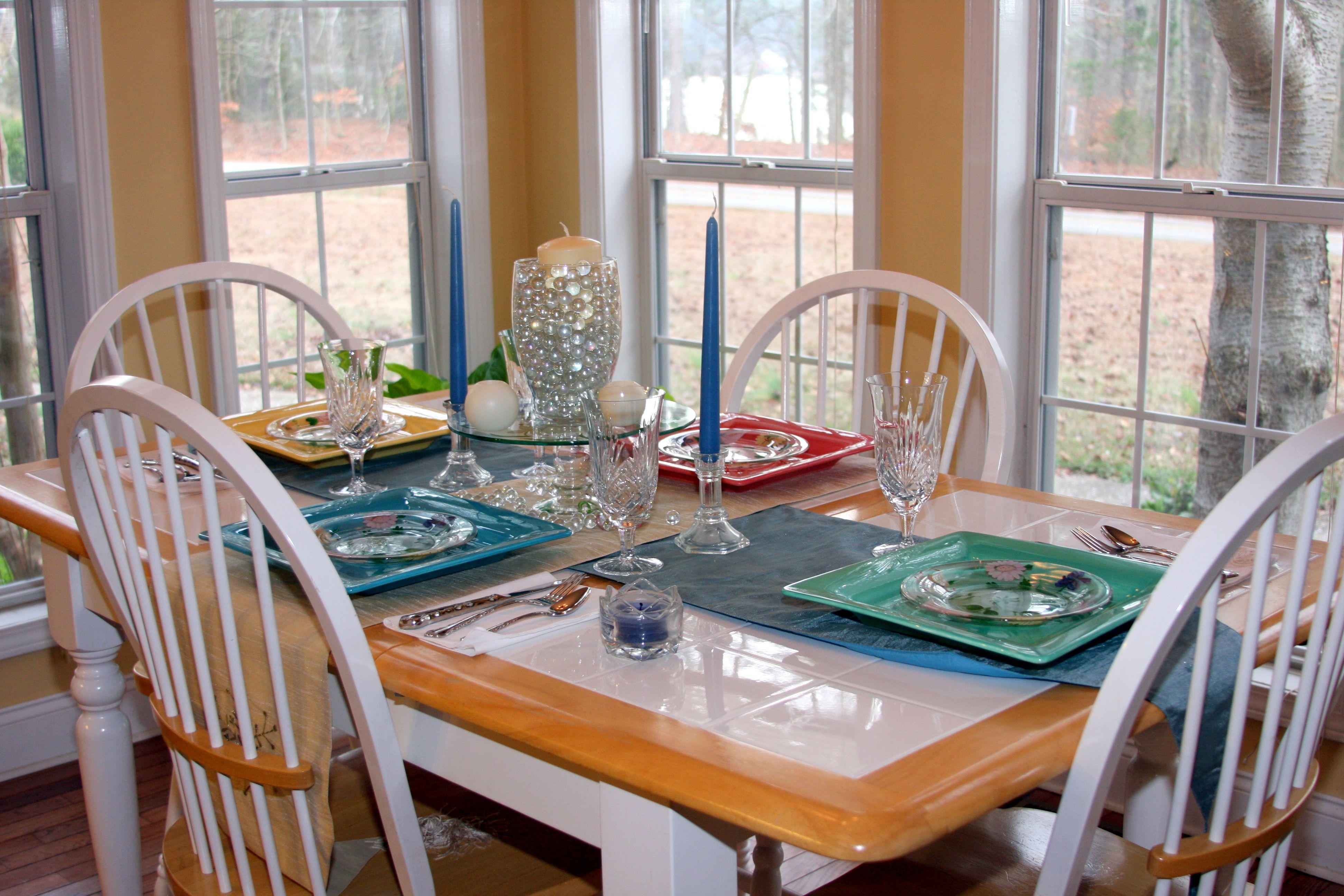 Breakfast Table Kitchen Decor Pinterest