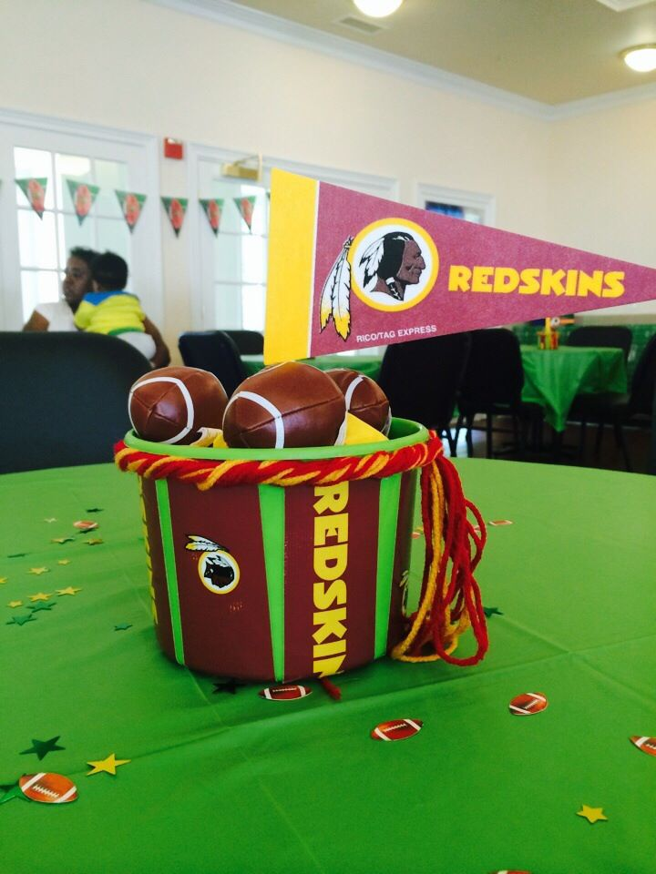 football themed baby shower that i did cool decorations pinterest