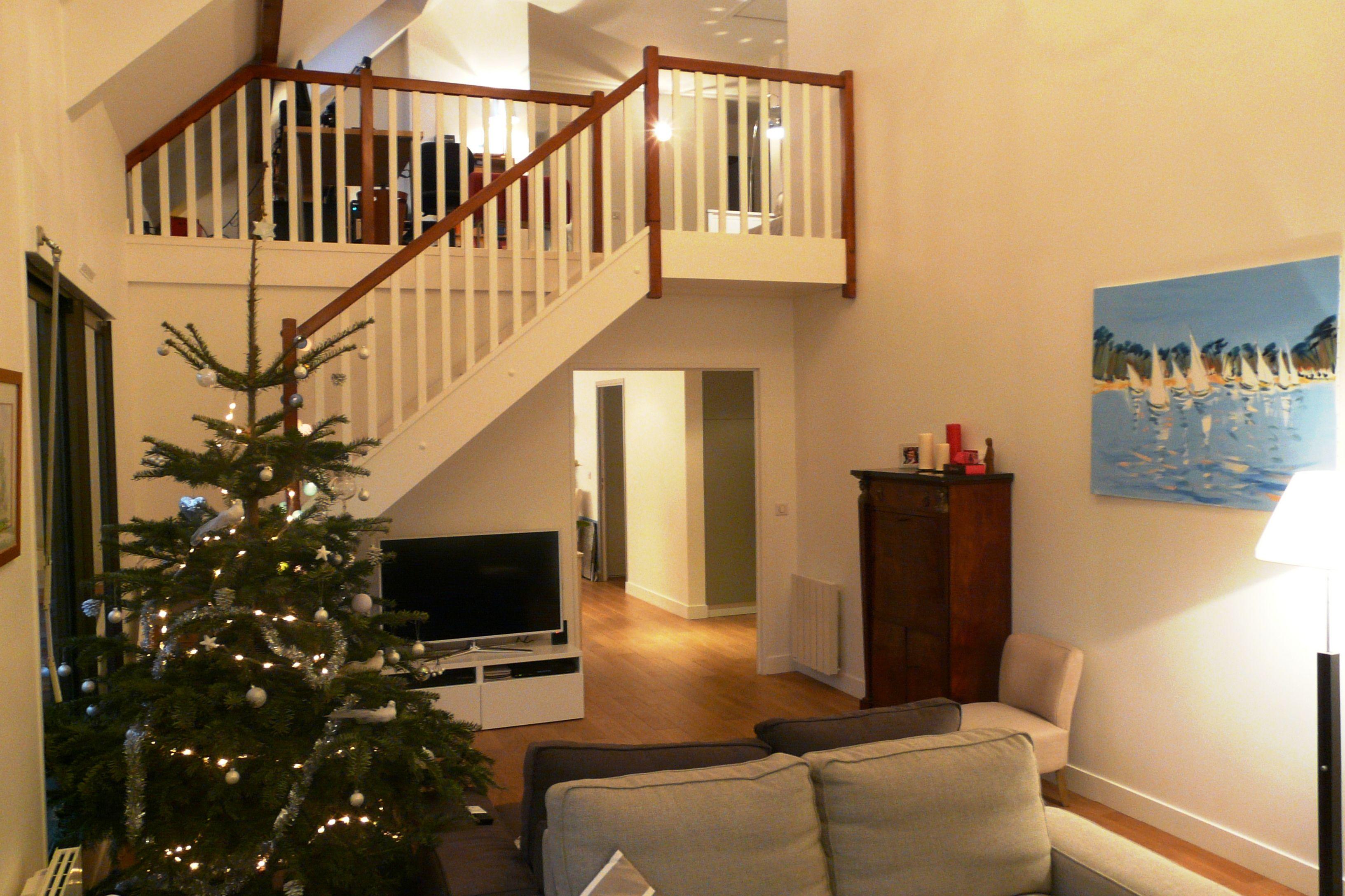 Escalier Bois Et Blanc : Escalier blanc et bois For the Home Pinterest