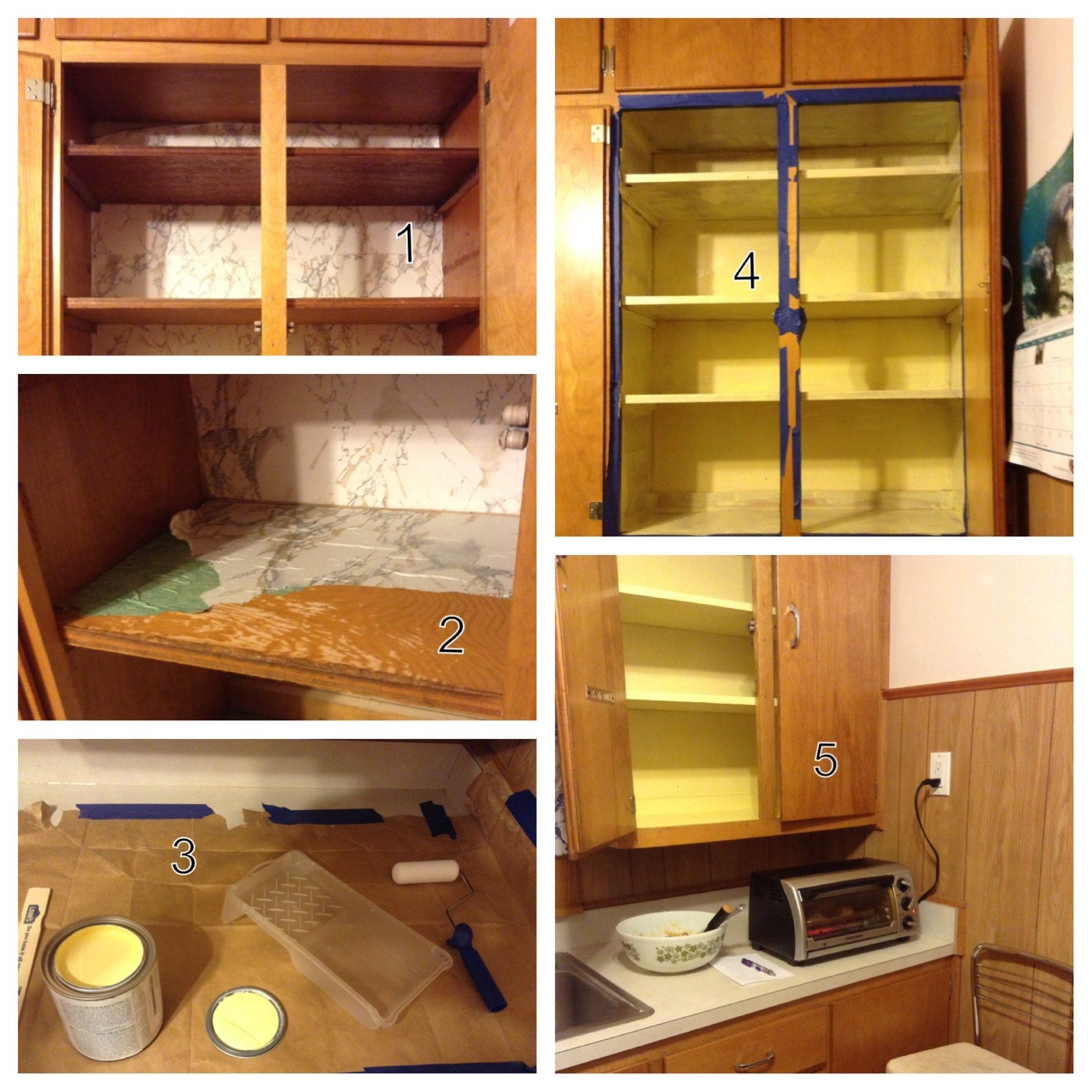 Updating Kitchen Cabinet Interiors Kitchen Ideas Pinterest