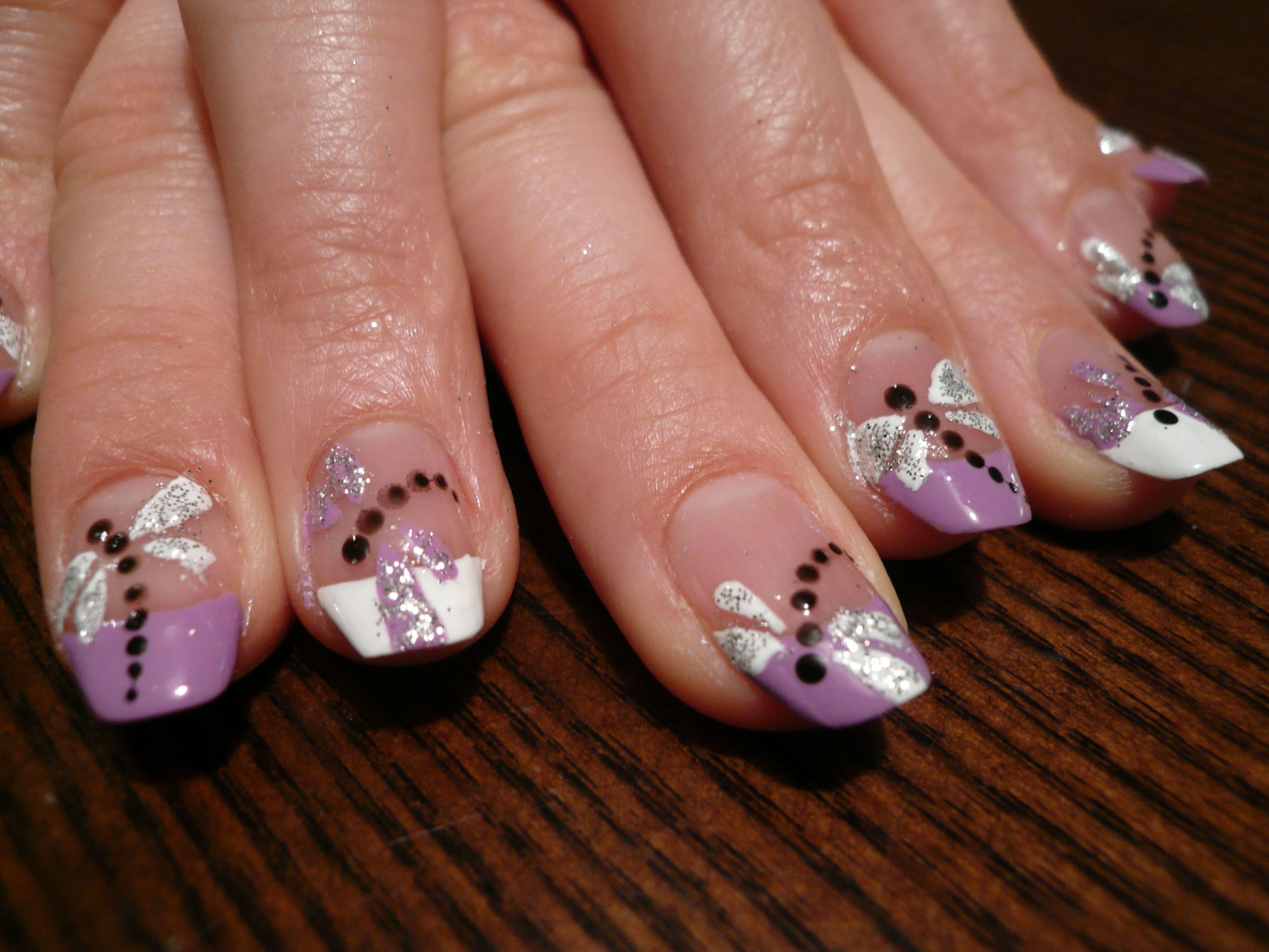 Рисунок на ногтях стрекоза фото