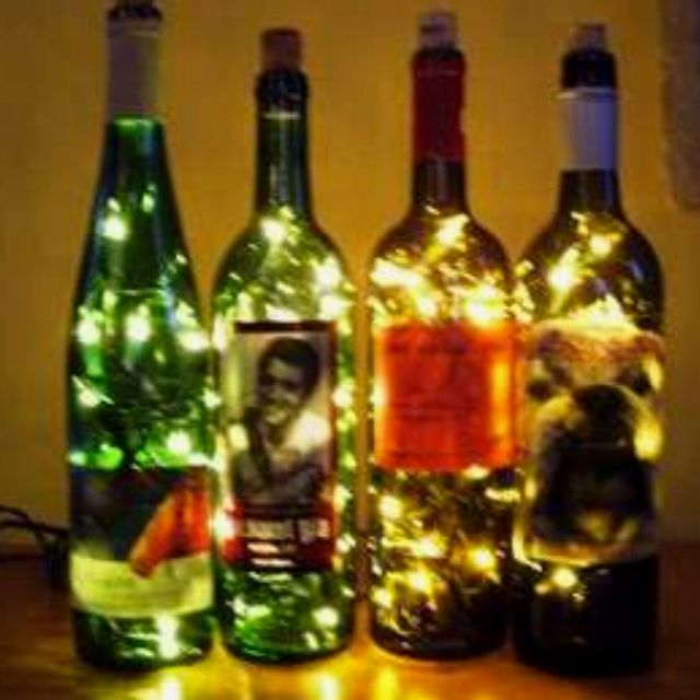 creative ideas for empty wine bottles for the home ForCreative Ideas For Empty Wine Bottles