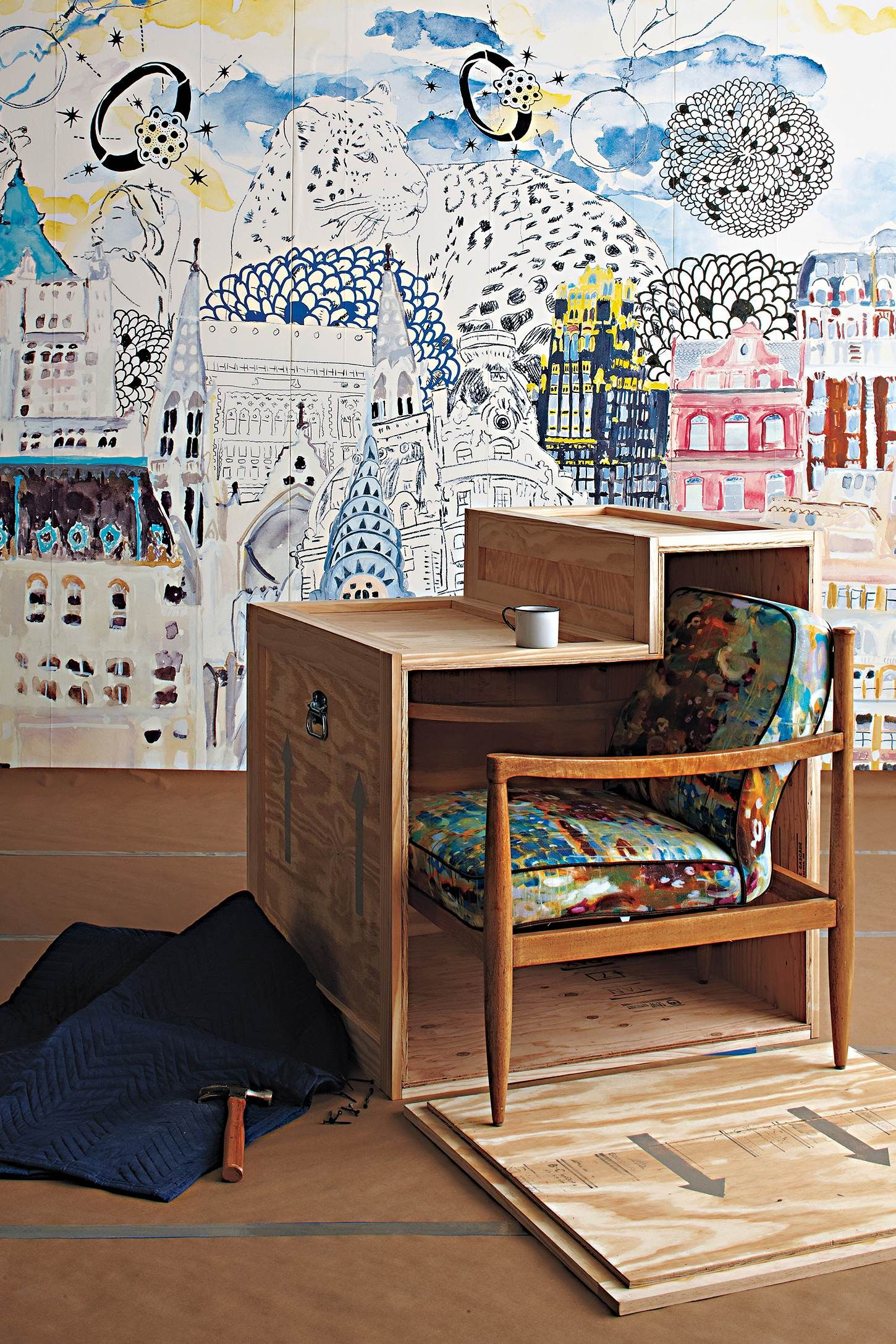 Anthropologie Home Decor Wallpaper Wall Treatments