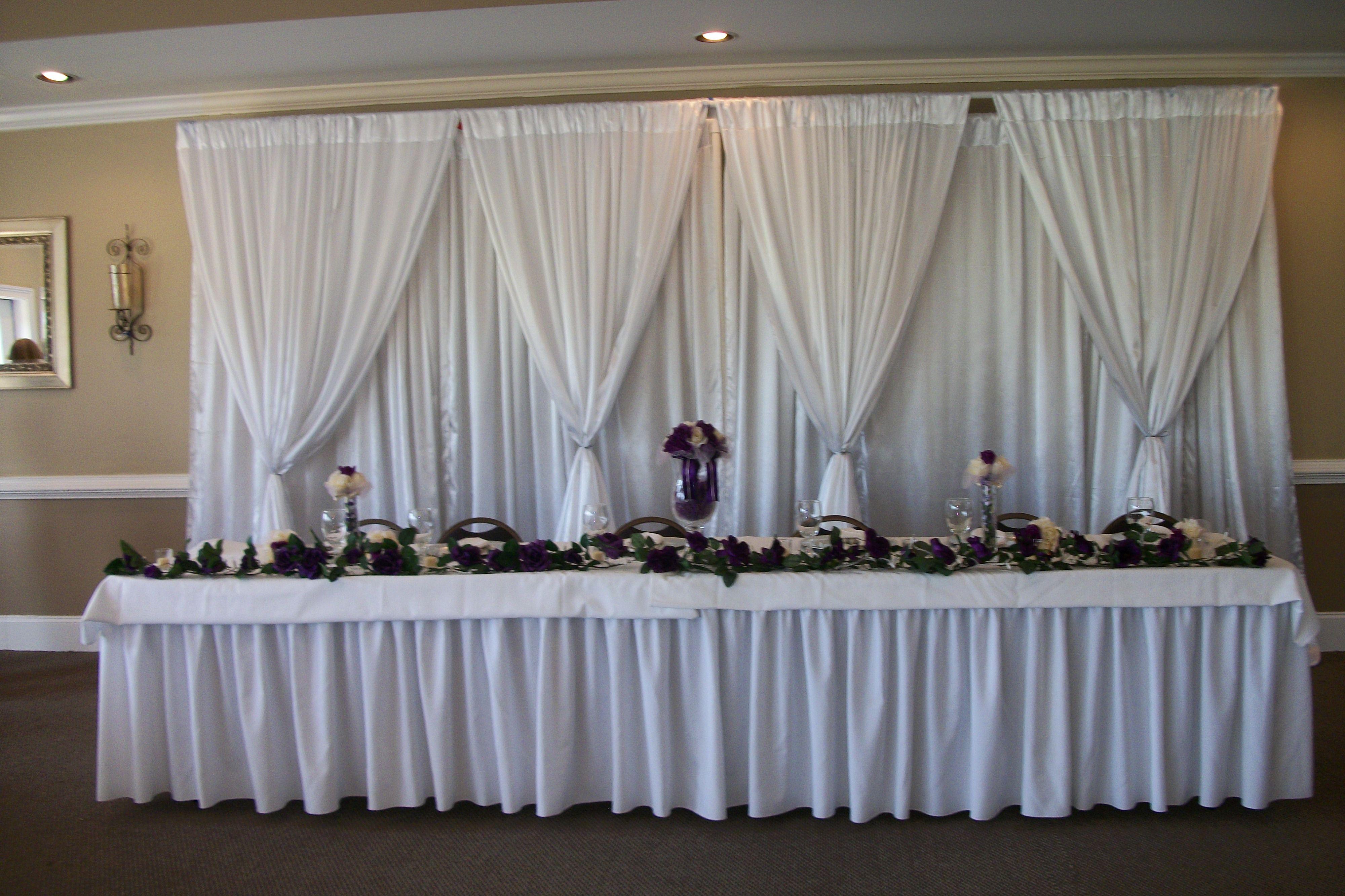Bride and groom table wedding plan ideas pinterest