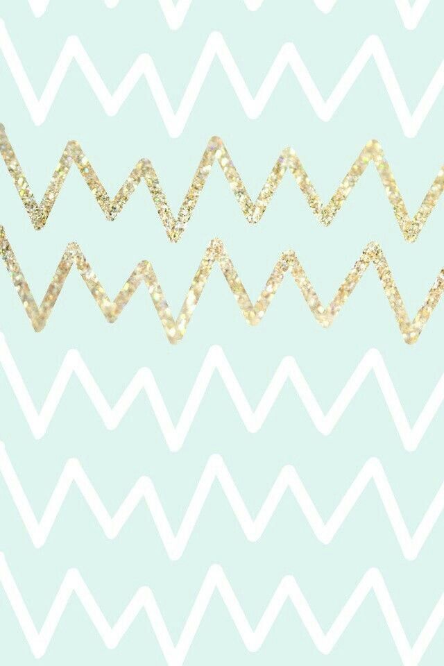 Cheveron and glitter wallpaper | Chevron | Pinterest
