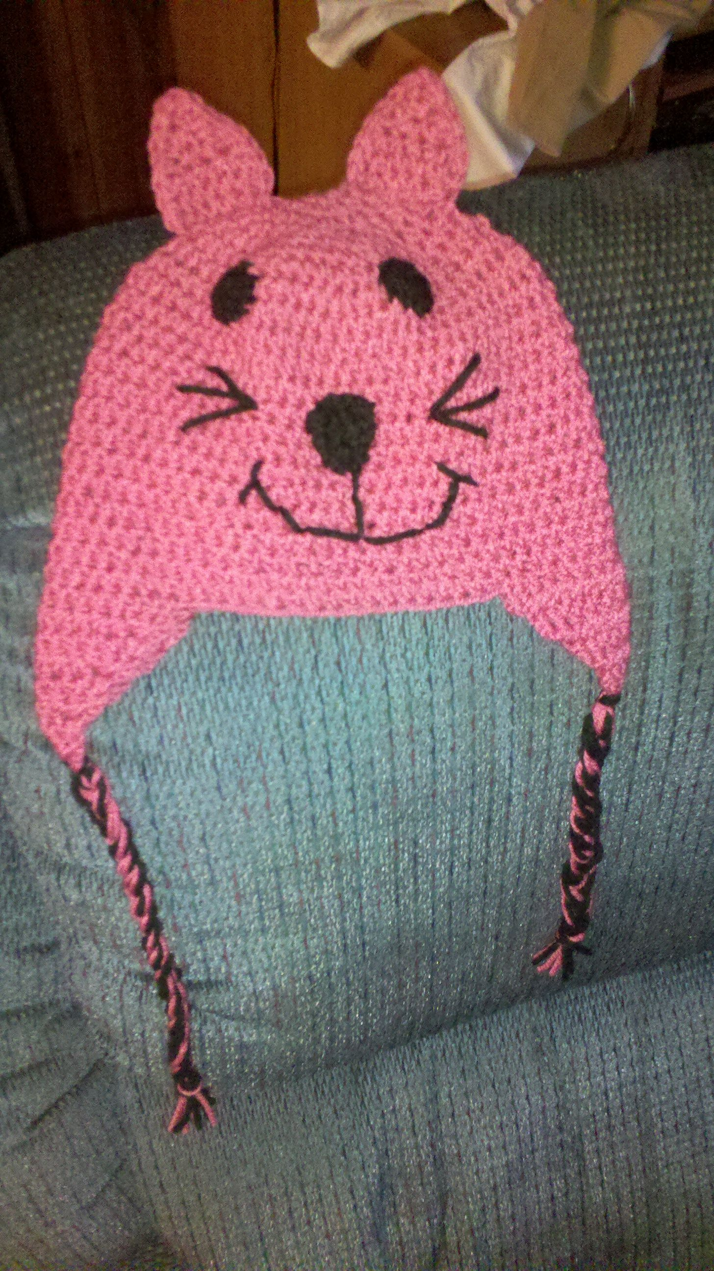 Crochet Cat Hat : crochet cat hat crochet Pinterest