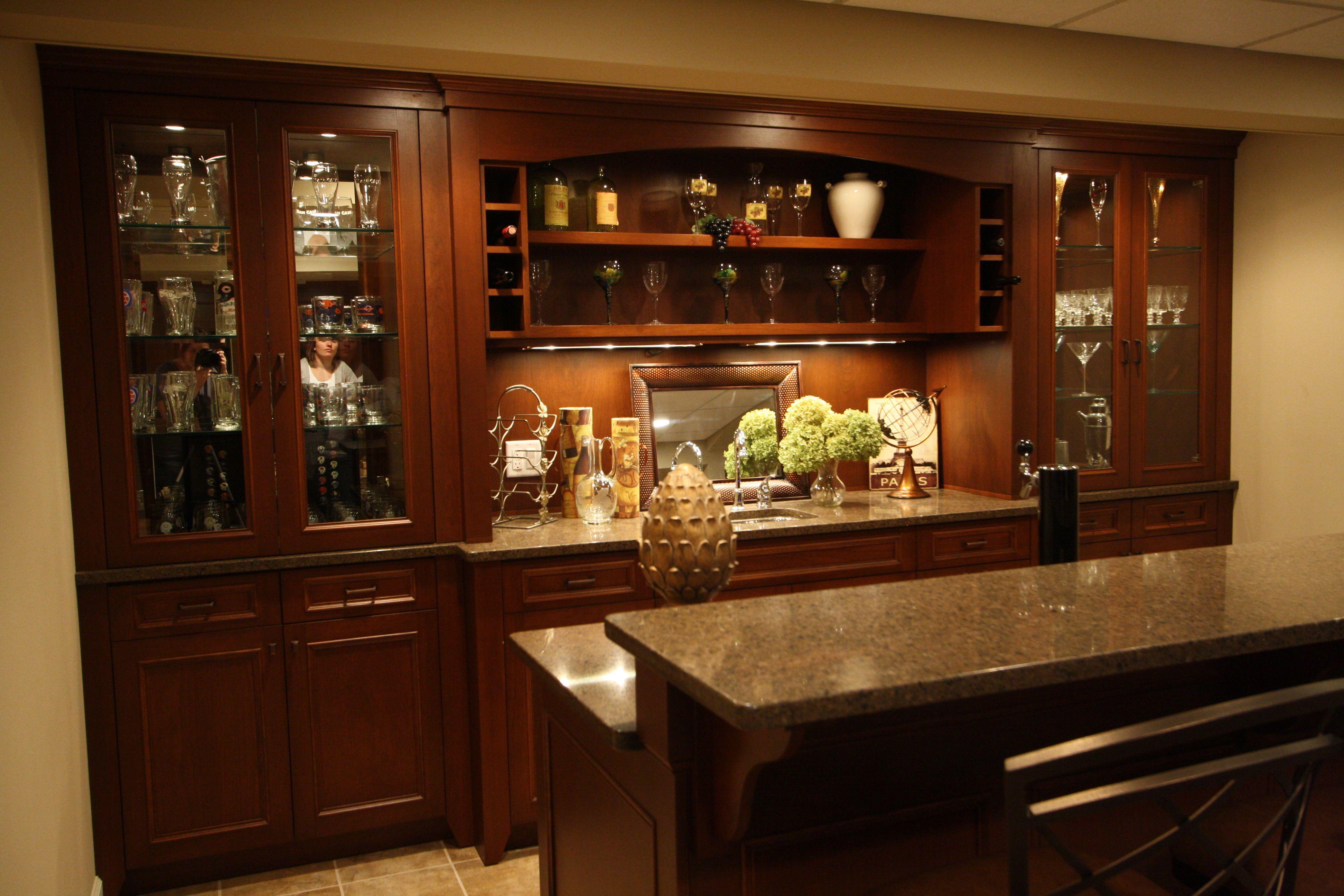 Basement bar basement pinterest - Basemant with bar ...