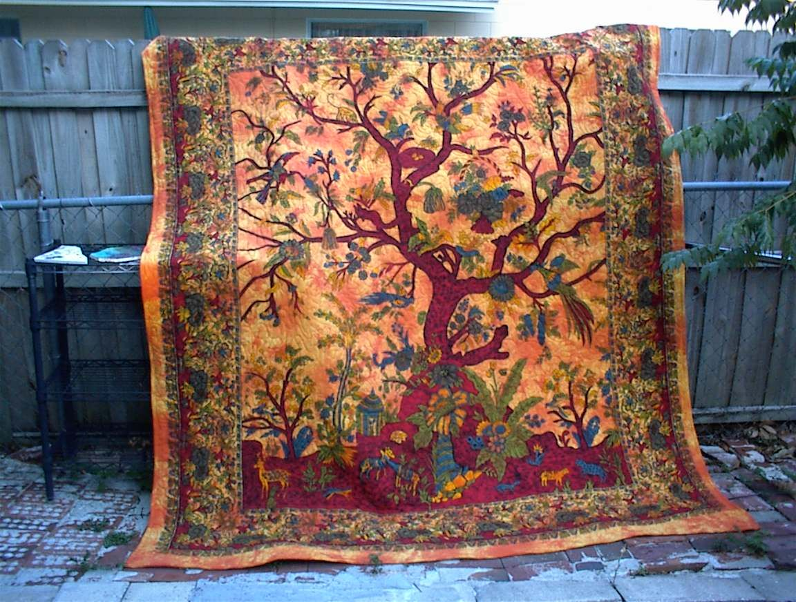 Tree of Life quilt 8 Quilts/Tree of life Pinterest