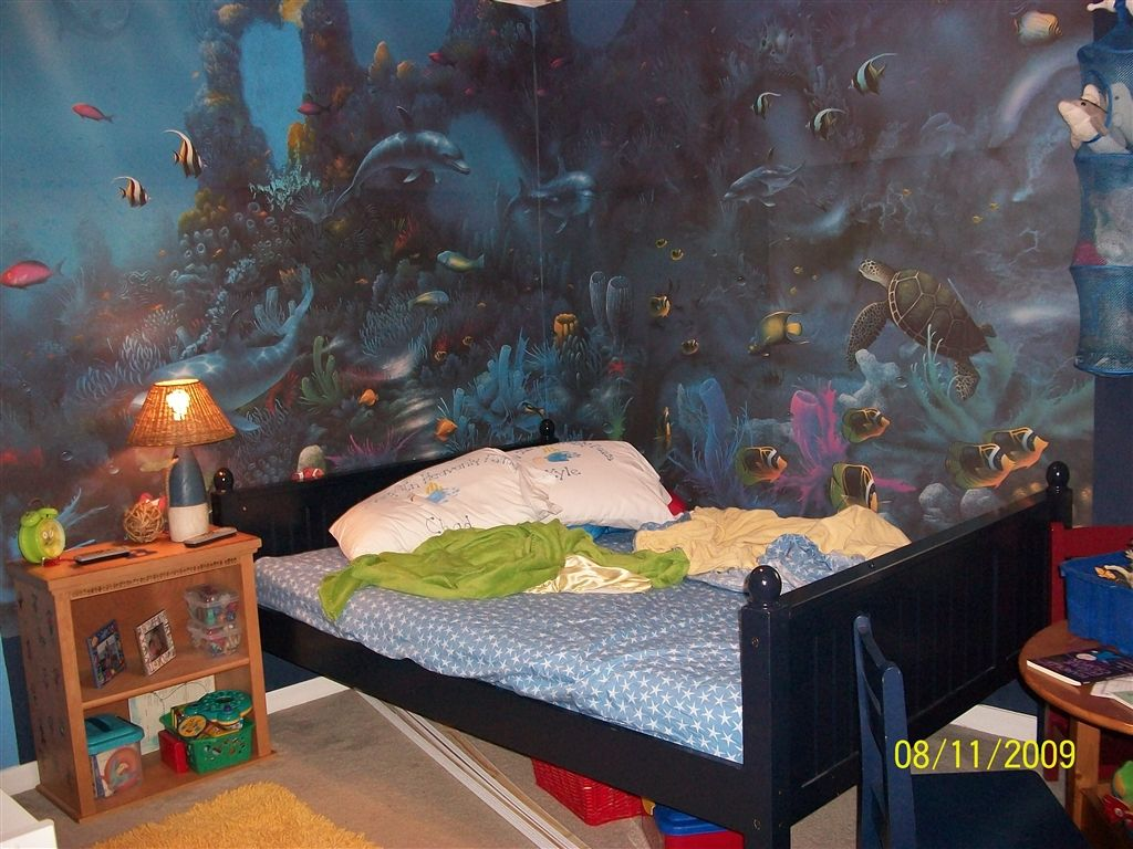 Aquarium Themed Bedroom 1 The Children 39 S Wing Pinterest