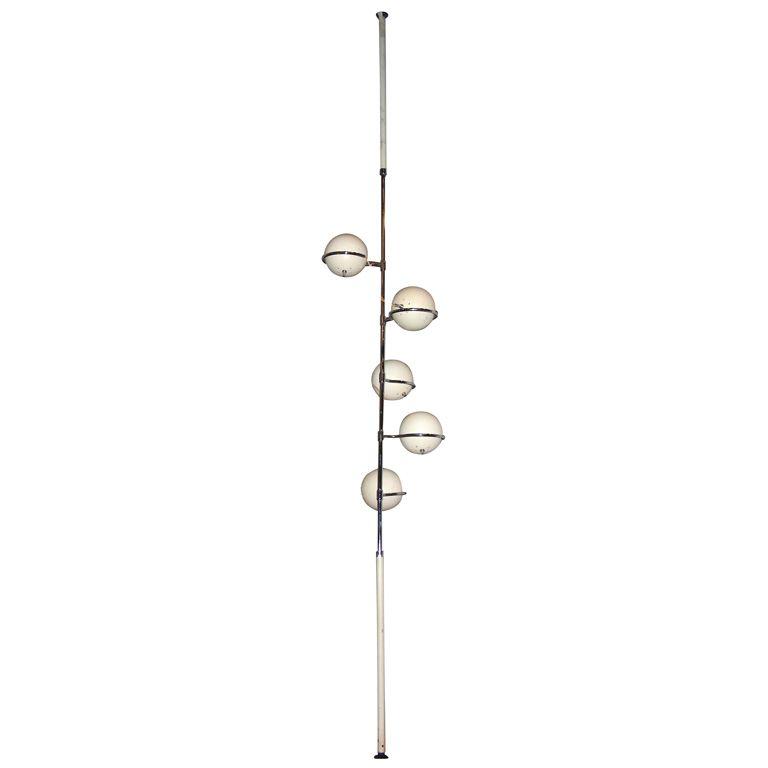 Vintage Tension Pole Lamp 81