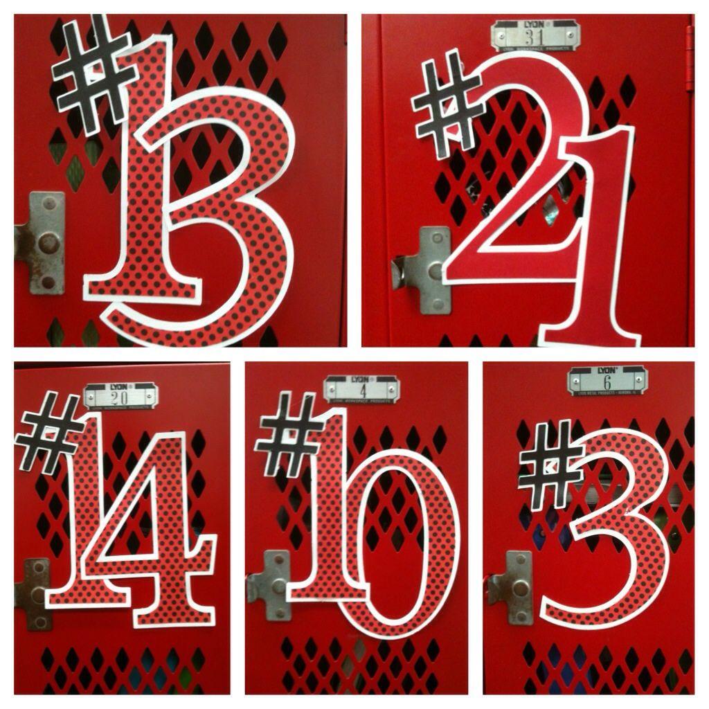 Basketball Locker Decoration Ideas