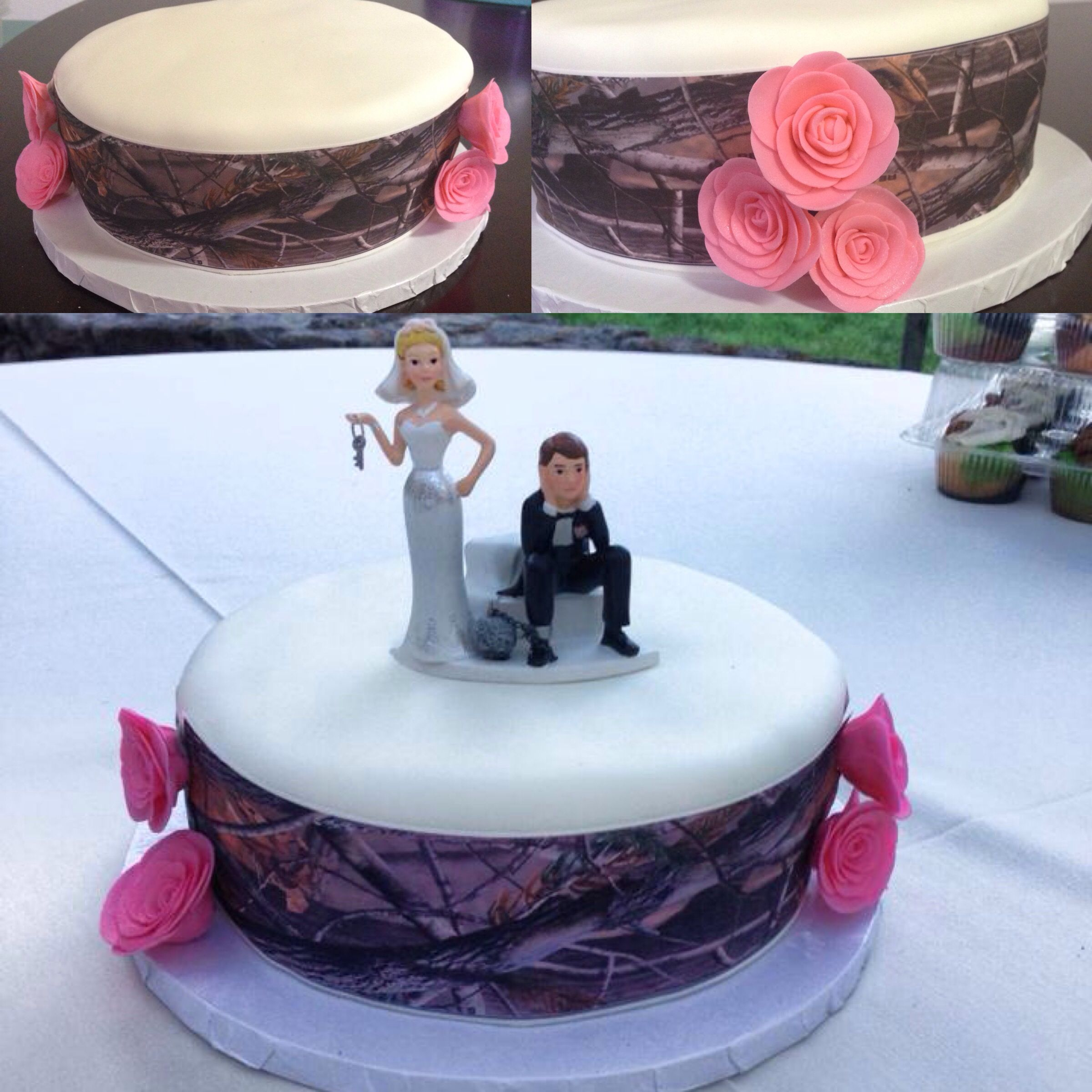Camoflaugde Weddings Wedding Cake Ideas and Designs