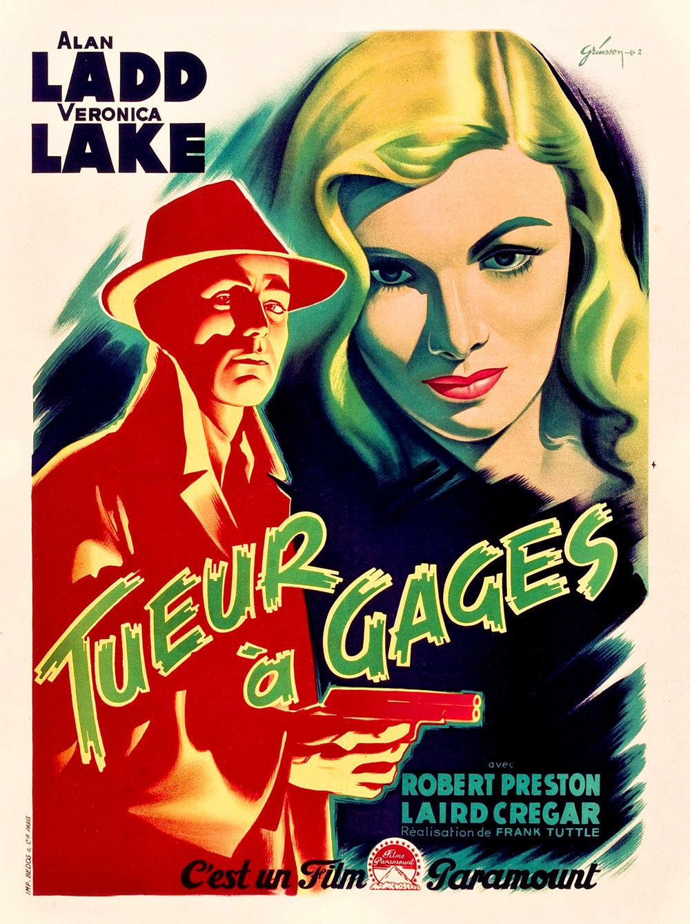 Movie posters from the 1940s