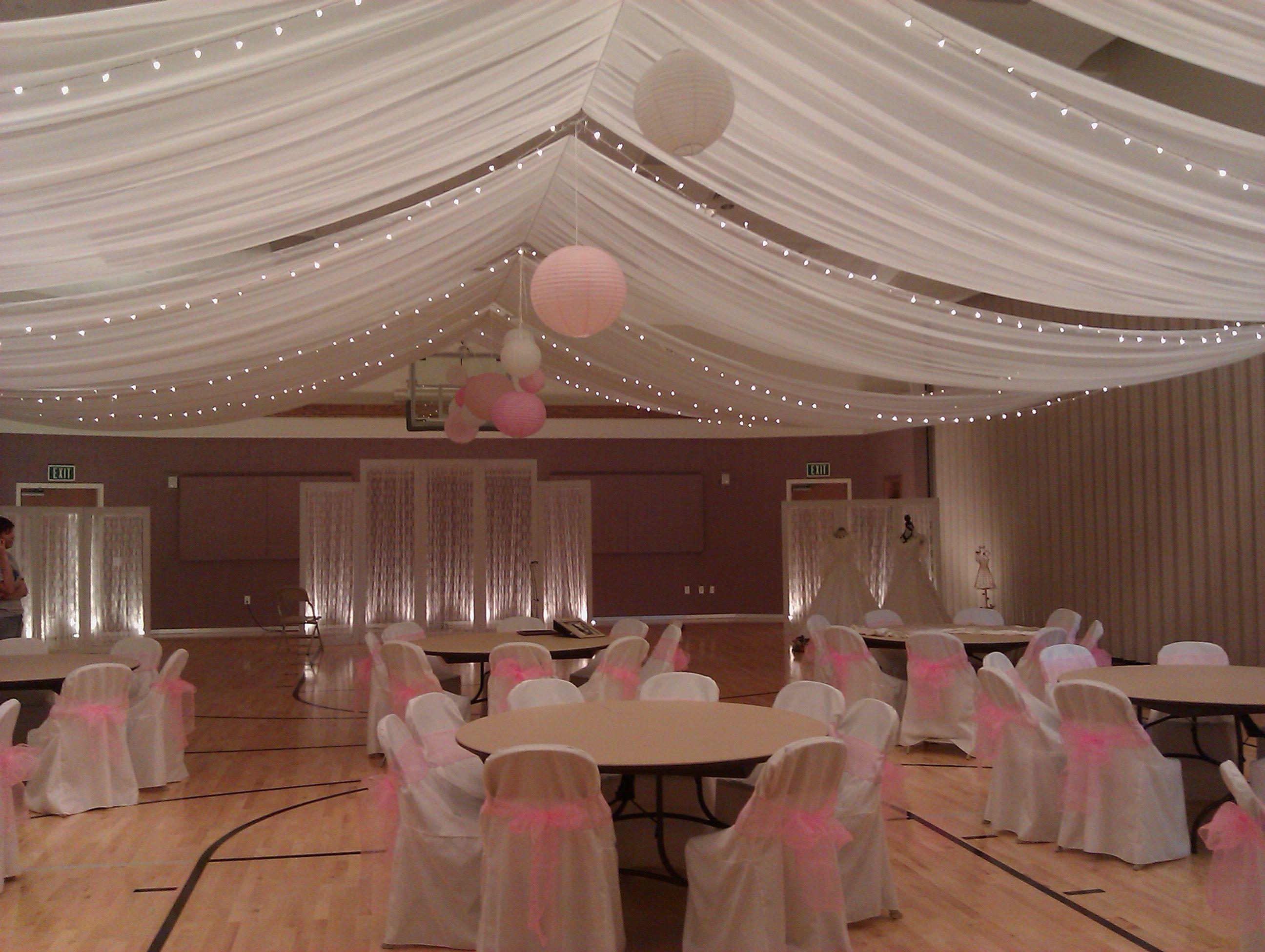 Wedding ceiling decorations set : Wedding ceiling ogden utah decor
