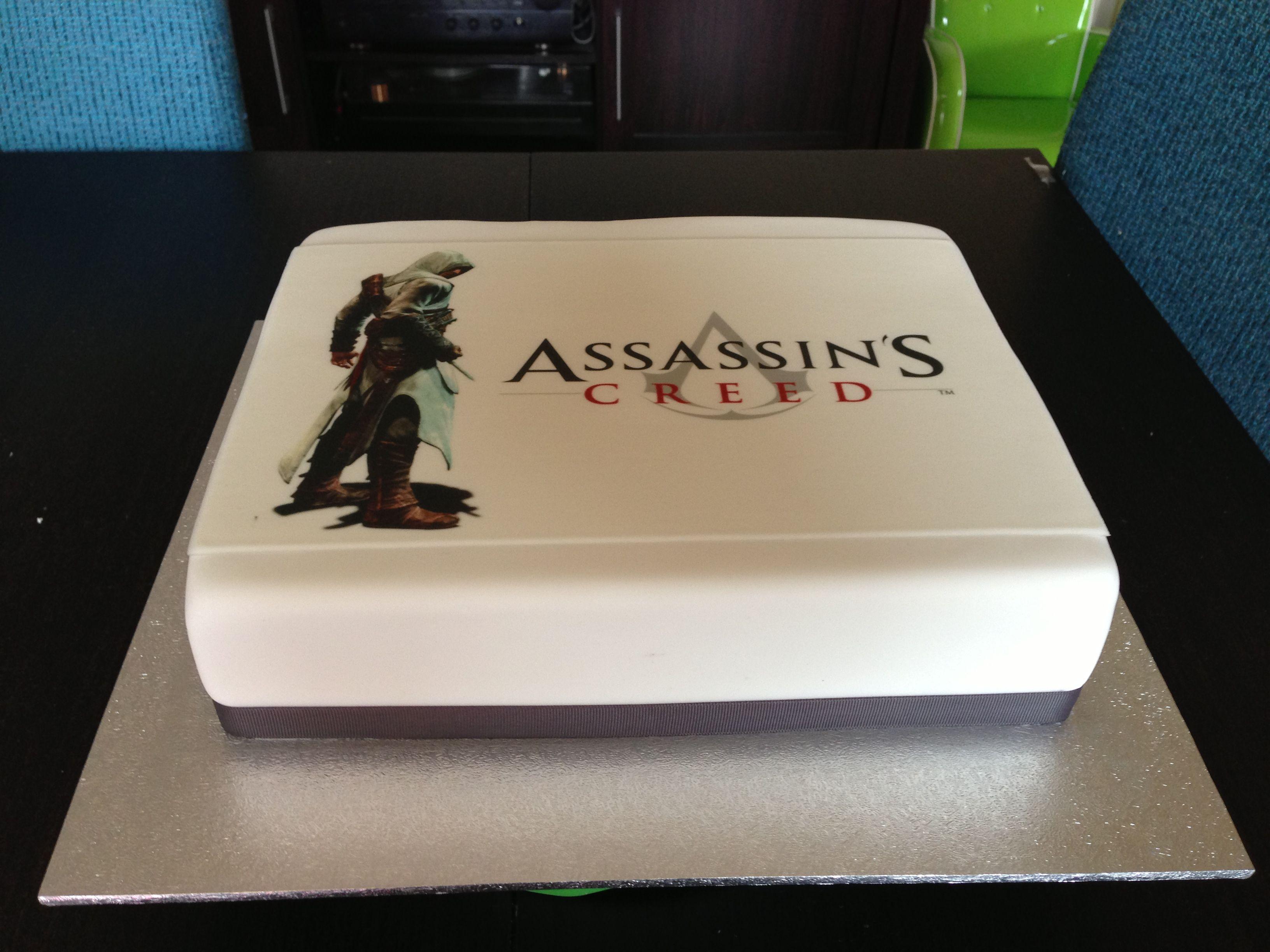 Cake Design Assassin S Creed : Assassins Creed Cake My birthday/present ideas Pinterest