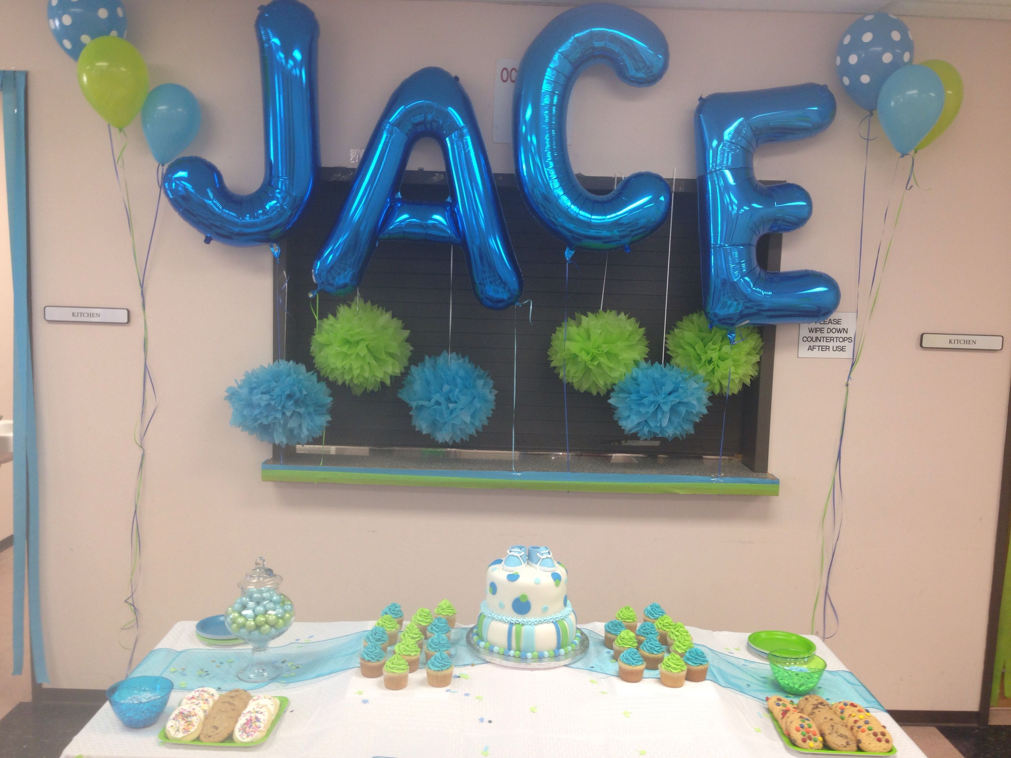 blue and green baby shower arthur 39 s tea party baby shower