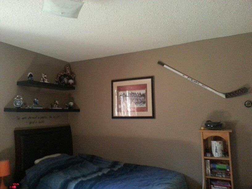 Hockey Themed Bedroom Boys Bedroom Design Pinterest