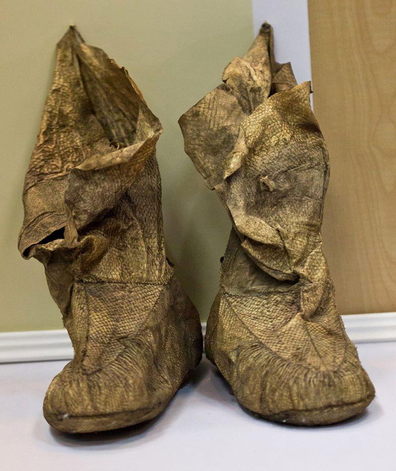 nanai fish skin boots fish pinterest