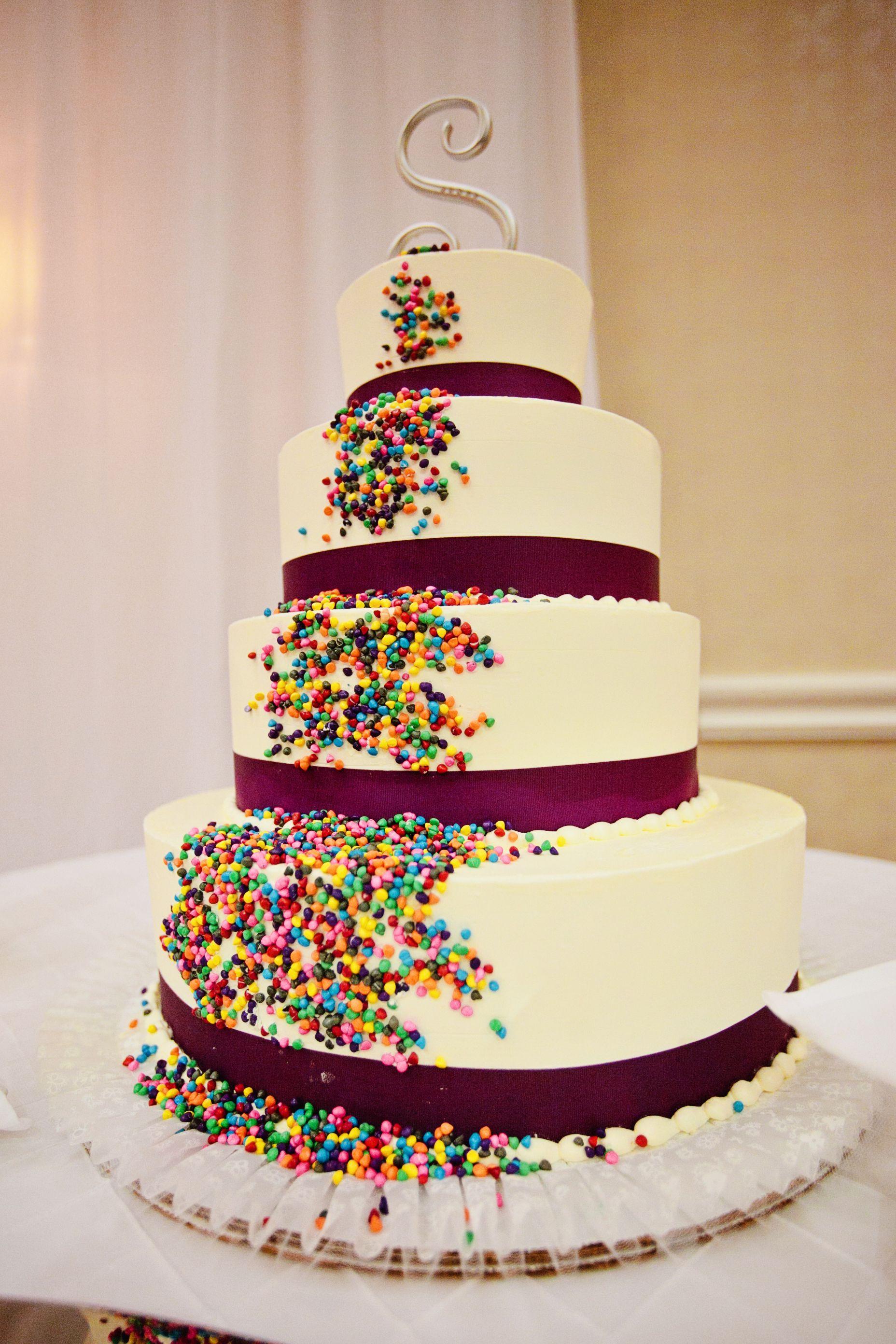 non traditional wedding cake Weddingy Things