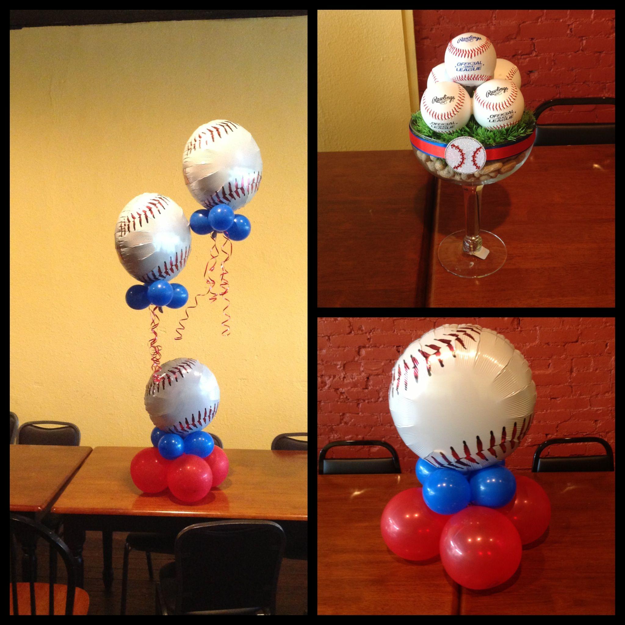 baseball theme boy babyshower baby shower pinterest