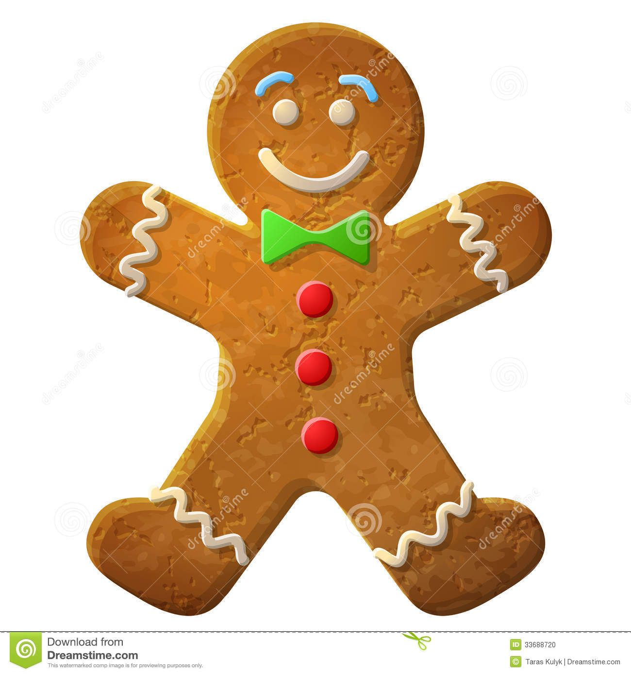 On A Gingerbread Man Pinterest