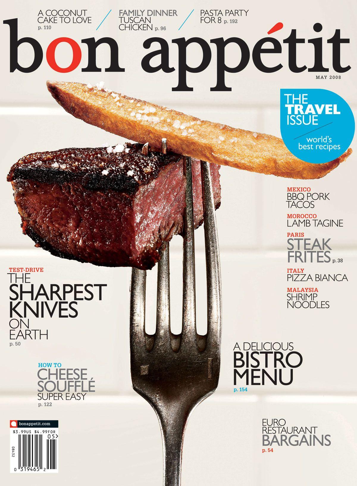 Bon Appetit cover | Design [editorial covers] | Pinterest