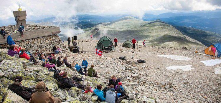 Monte Gaustabanen viaje Noruega